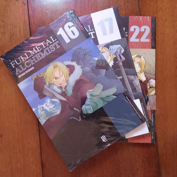 mangas fullmetal alchemist - ed. especial