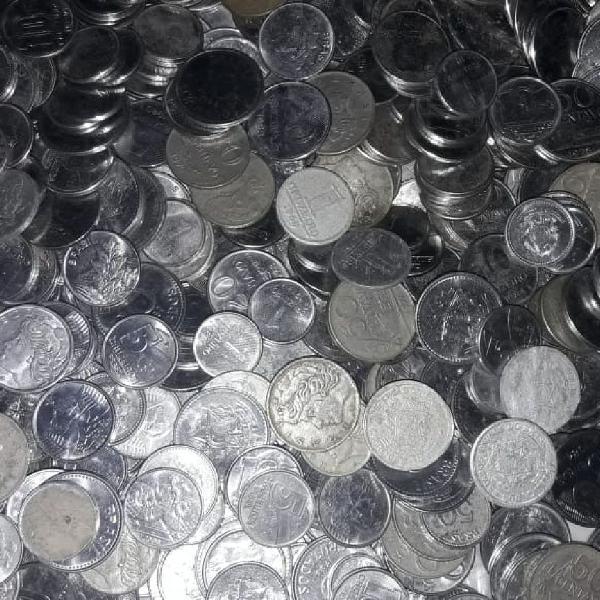 5kg de moedas antigas do brasil!
