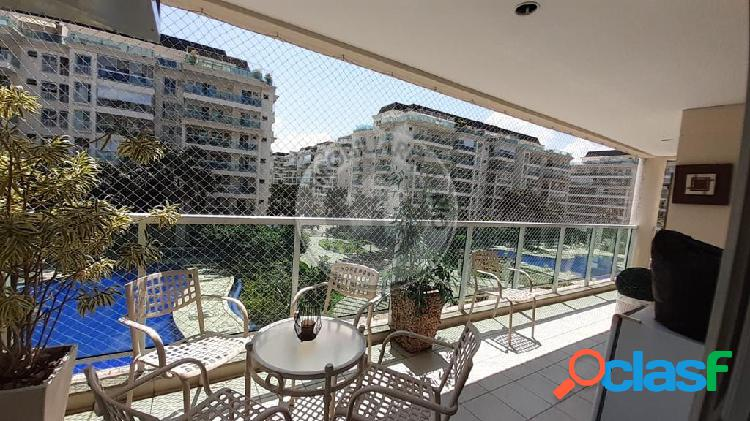Apartamento 127m², 3 quartos, Le Parc - Barra da Tijuca