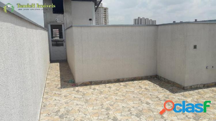 Cobertura sem condomínio, 2 dormitórios - Vila Luzita