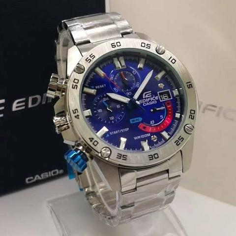 Relógio Casio Edifice EFR 558 cronógrafo conservado