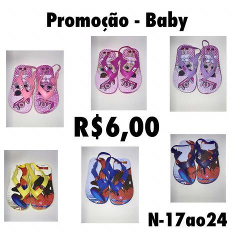 Sandálias bebê no atacado direto da fábrica