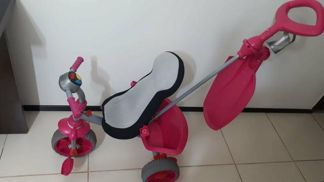 Triciclo infantil smart pouco tempo de uso