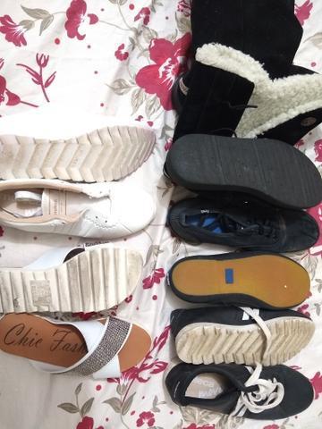 Vendo lote de calçados pra menina