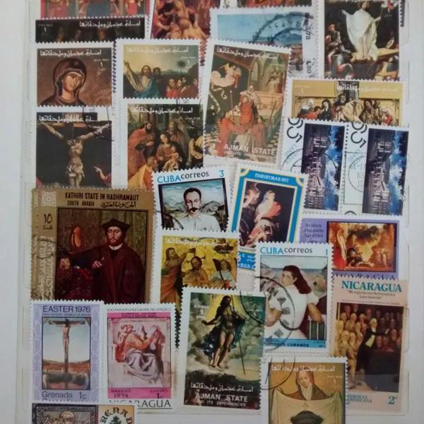 coleção selos raros