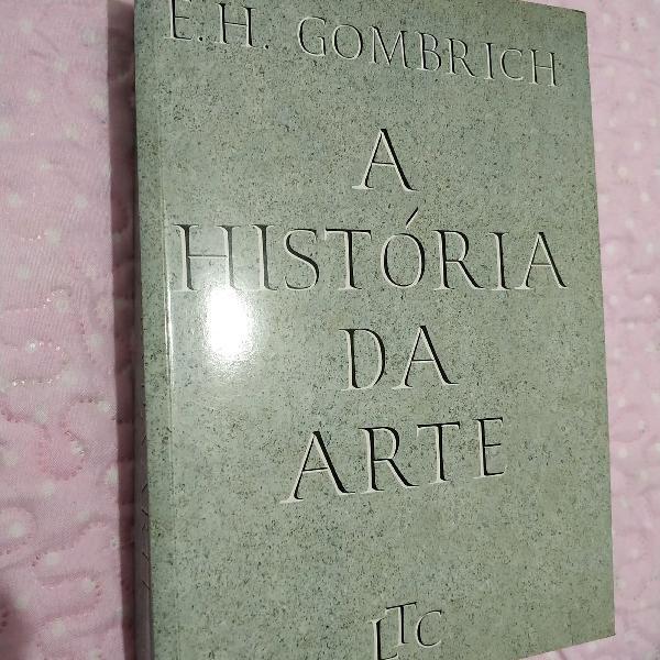 livro a história da arte Gombricht