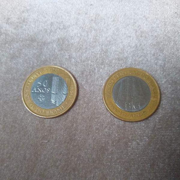 moedas banco central para colecionador