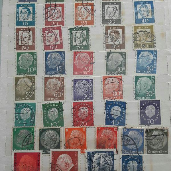 selos antigos
