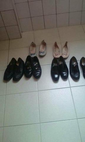 4 sapatos 38 social e 2 sapatilhas 35 venda ou troca