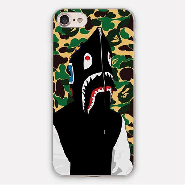 Capinha Bape Shark para iPhone 5, 5S & 5C