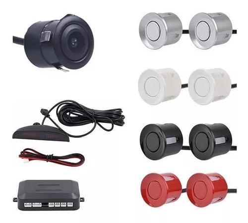 Kit Sensor De Estacionamento E Câmera De Ré