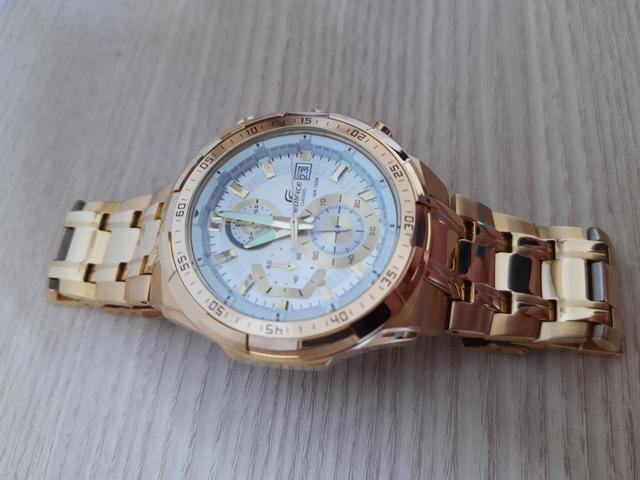 Relógio Casio Edifice Gold Edition