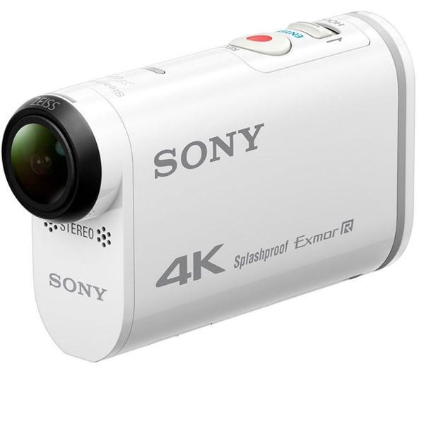 câmera sony fdr x3000 4k branca na caixa