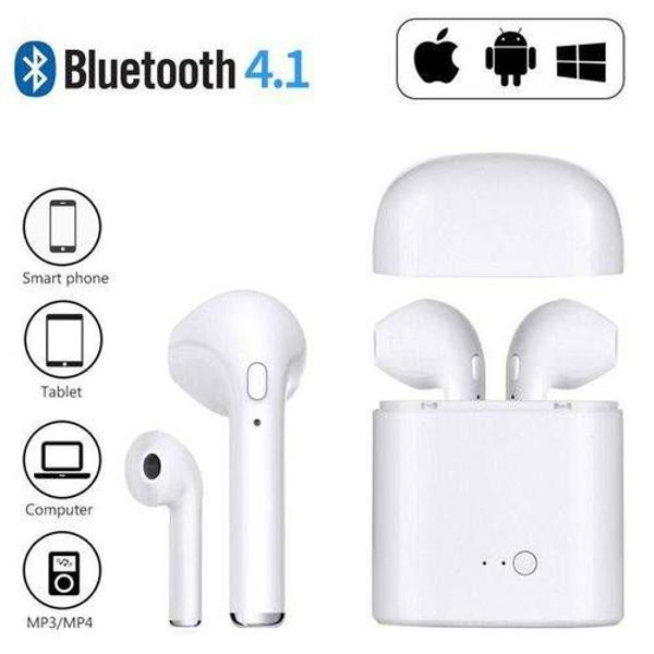 fone bluetooth i7s sterio android/ios