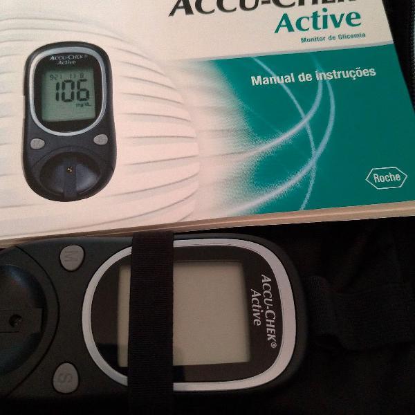 medidor de glicose acu check