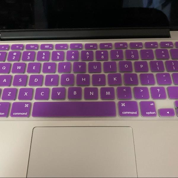 proteção para teclado de macbook pro 13 e 15