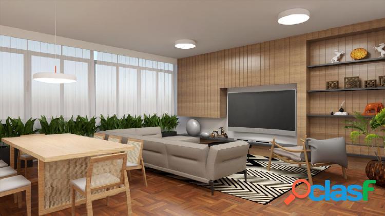 167m² - 3 dormitórios - 2 suites - 1 vaga - Com vista
