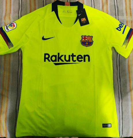 Camisas Barcelona e Real Madrid - Pronta Entrega