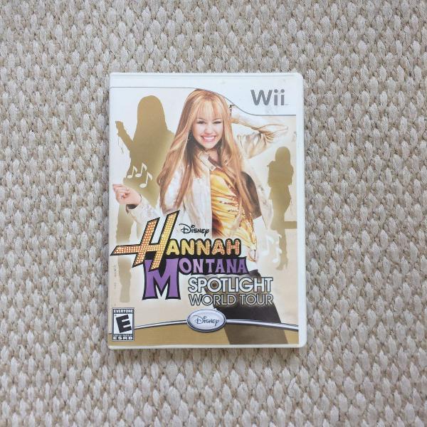 Hannah Montana Spotlight World Tour: Wii