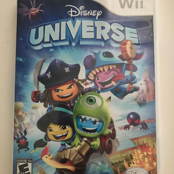 Jogo Disney Universe - Wii - usado