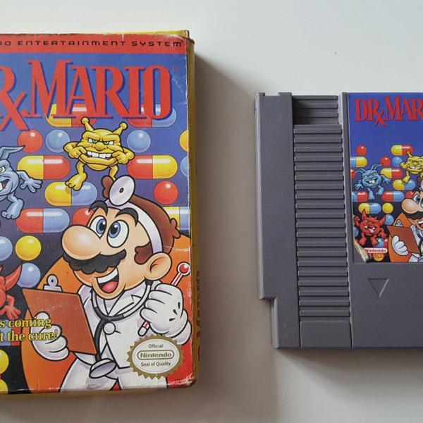Jogo Dr Mario Para Nintendo Nes 8 Bits Original