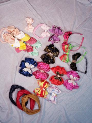 Laços e tiaras infantil