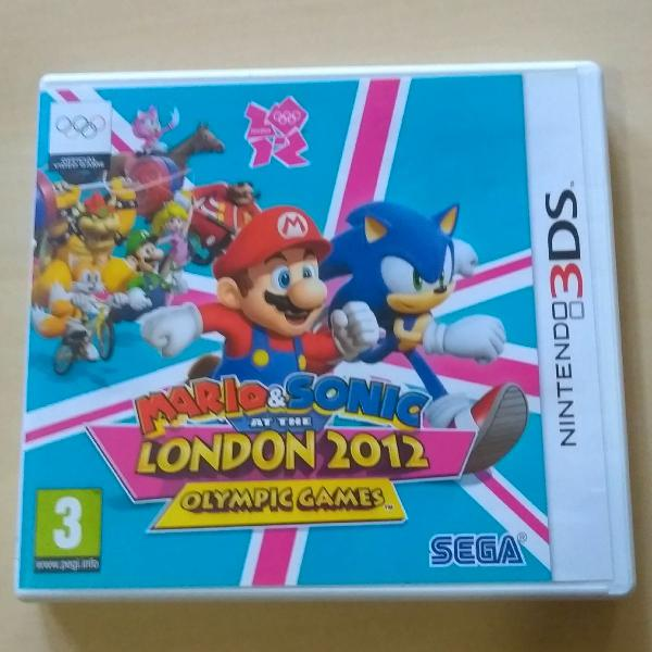 Mario and Sonic at the London 2012 Olympic Games 3DS