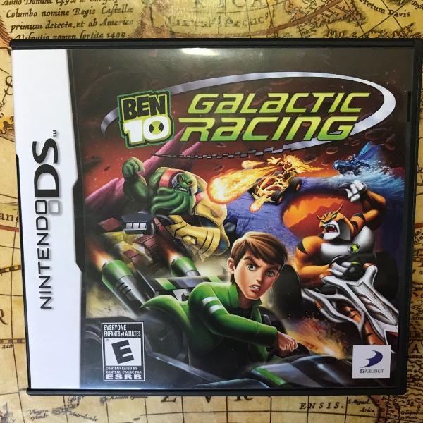 ben 10 - galactic racing ds