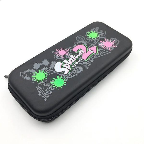 case bolsa armazenamento nintendo switch edição splatoon 2