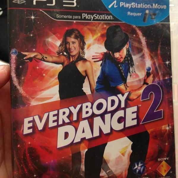 everybody dance 2 playstation 3 ps3 midia física r$40
