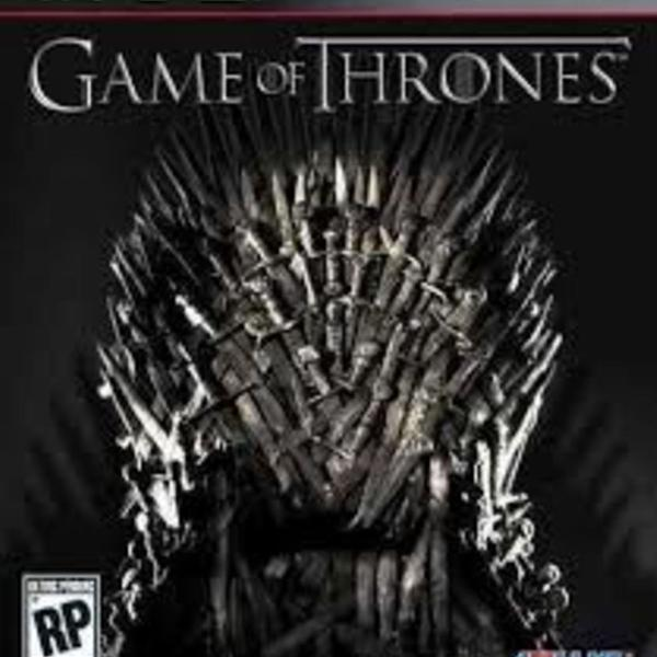 game of thrones ps3 midia fisica - semi novo bom estado