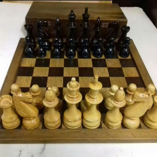 jogo de xadrez antigo raridade