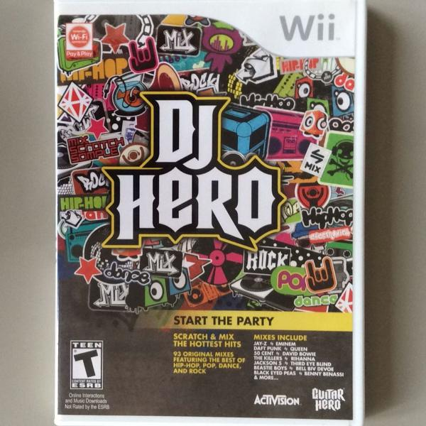 jogo dj hero para nintendo wii