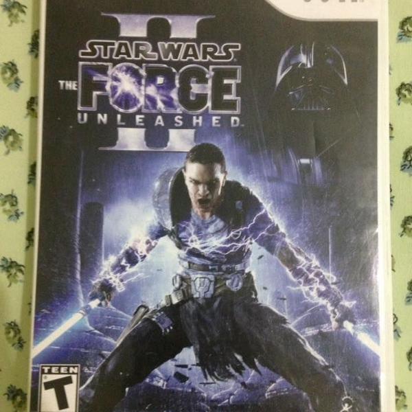 star wars force unleashed 2 nintendo wii r$86