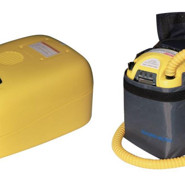 bomba de ar elétrica speedy air pump - recarregável 12 v