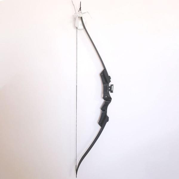kit conjunto arco e flecha recurvo man kung 21 libras inter