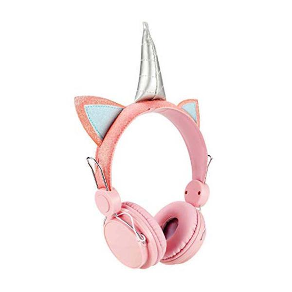 fone de ouvido p2 unicornio cute rosa