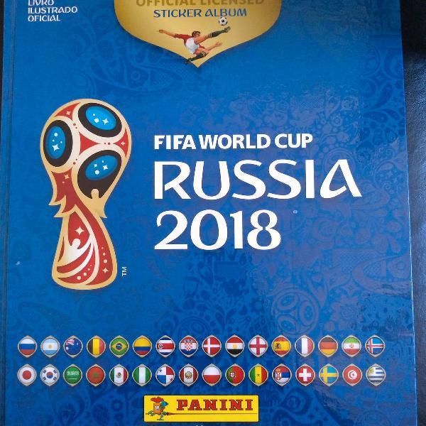 lbum Capa Dura Copa da Rússia 2018