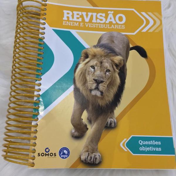 livro revisão enem e vestibulares