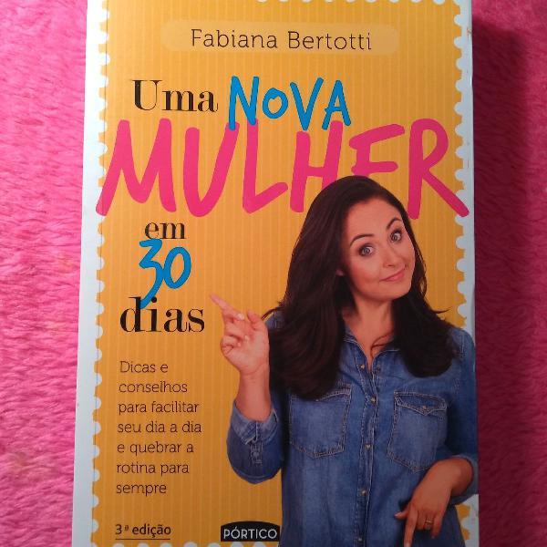 livro: uma nova mulher em 30 dias