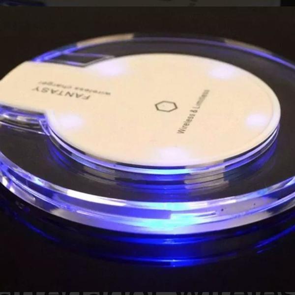 Carregador Wireless Sem Fio Fast Charge Fantasy