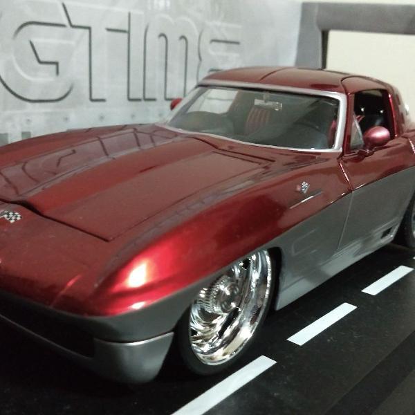 Chevrolet Corvette 1963 Sting Ray - Jada Toys 1:18