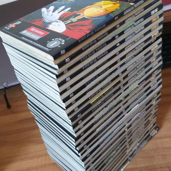 Coleção completa Fullmetal Alchemist