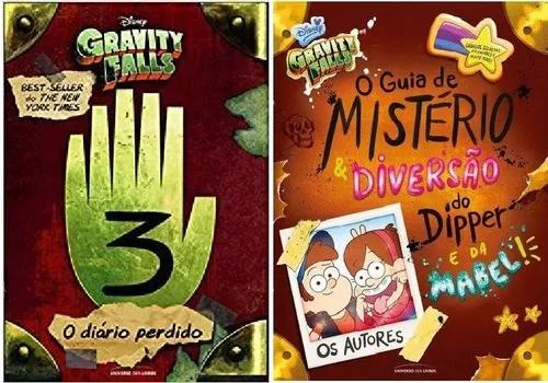 Kit Gravity Falls 3 Diário + Guia Mistério Dipper E Mabel