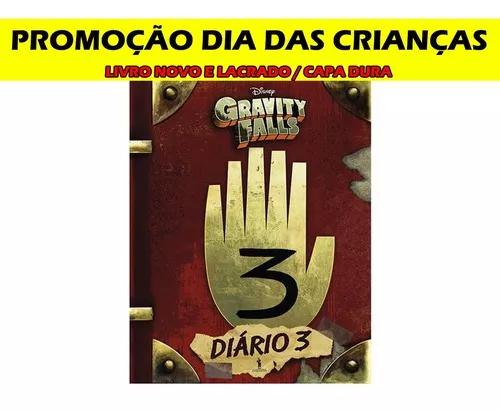 Livro Gravity Falls Diário Perdido 3 - Promoção