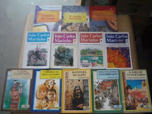 Lote Com 12 Livros Infanto Juvenil Variado