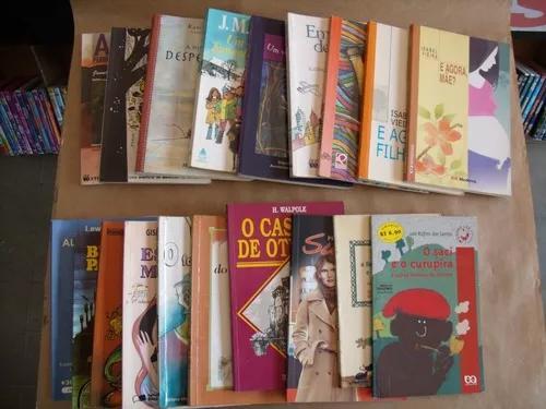 Lote Com 19 Livros Infanto Juvenil Variado Bicicleta Para Do