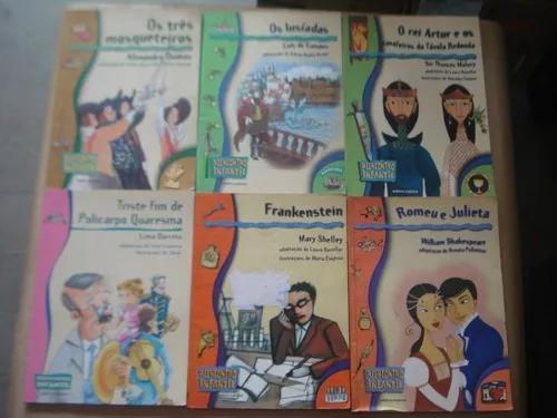 Lote Com 6 Livros Infanto Juvenil Coleção Reencontro