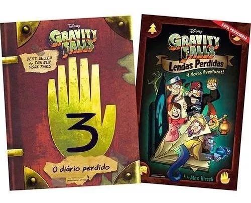 O Diário Perdido De Gravity Falls + Gravity Falls: Lendas P