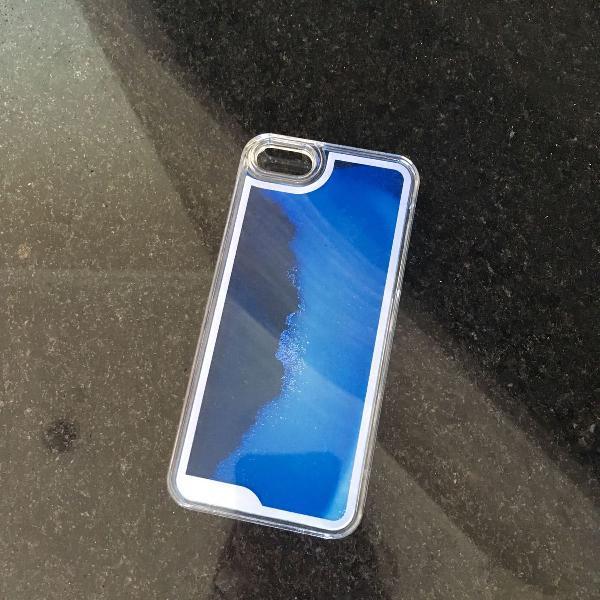 case brilha no escuro iphone 5/5s/5se